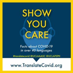 UCLA TranslateCovid.org Multilingual Resource Hub