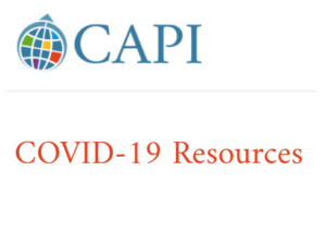 CAPI COVID-19 Resources