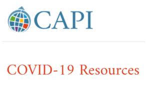 CAPI COVID-19 Resources