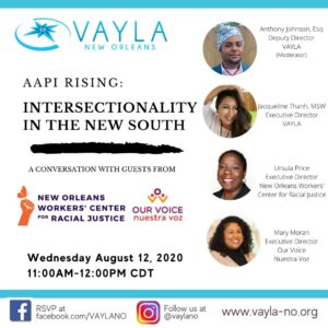 AAPI Rising: Intersectionalty in the New South