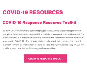 COVID-19 Response Resource Toolkit
