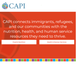 CAPI's Basic Needs Programs