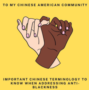 Important Chinese Terminology to Know When Addressing Anti-Blackness