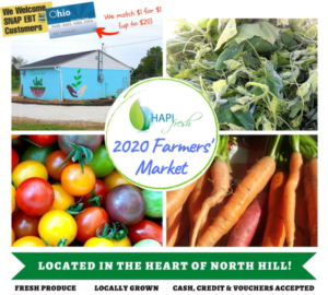 Asian Services in Action's HAPI Fresh Farmer's Market
