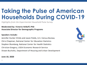 Taking the Pulse of American Households During COVID-19