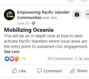Mobilizing Oceania