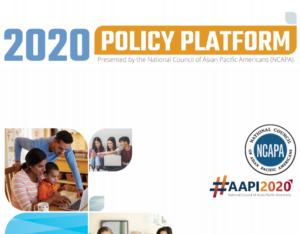 NCAPA 2020 Policy Platform