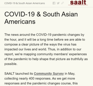 COVID-19 & South Asian Americans | Live Interactive Map