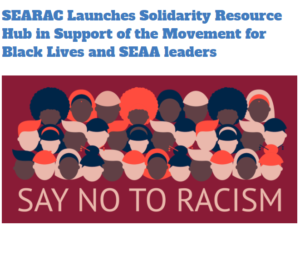 SEAA Resources for Solidarity with The Movement for Black Lives