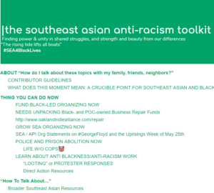 The Southeast Asian Anti-Racism Toolkit