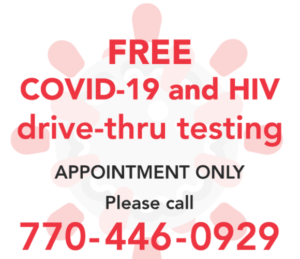 CPACS Free COVID-19 and HIV Drive-Thru Testing