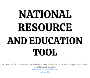 National Resource and Educational Tool