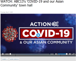 COVID-19 and Our Asian Community