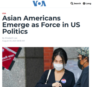 Asian Americans Emerge as Force in US Politics | Voice of America