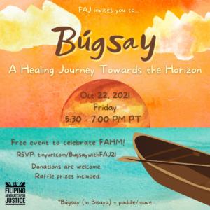 Bugsay: A Healing Journey Towards the Horizon | Filipino Advocates for Justice